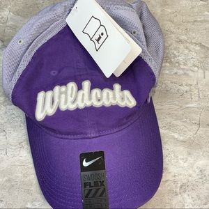 NWT Kansas State Wildcats Nike fitted hat purple